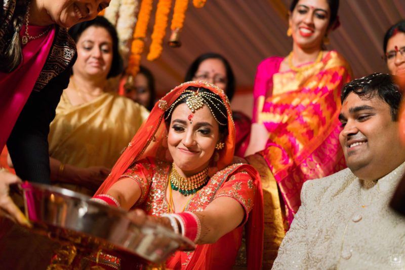 indian wedding ceremony in south