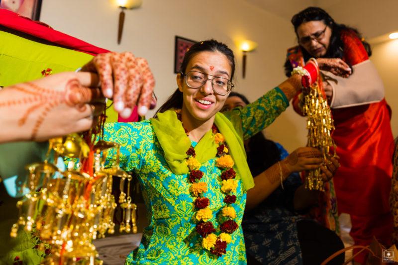 haldi chooda ceremony